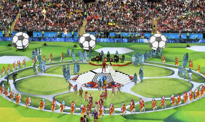 Ceremonia inaugural del Mundial de Rusia ¡En esta nota le contamos todos los detalles!