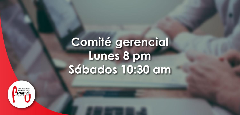 Comité gerencial - Radio - Frecuencia U - Universidad de Medellín