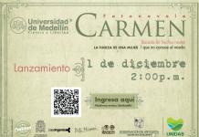 """Lanzamiento de la fotonovela """"Carmen"""""""