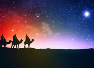 Los Reyes Magos y la famosa estrella de Belén