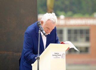 Sesión Solemne Toma de Promesa del Rector de la Universidad de Medellín Federico Restrepo Posada