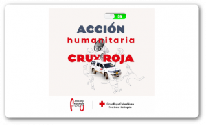 Acción humanitaria con la Cruz roja - Radio - Frecuencia U - Universidad de Medellín